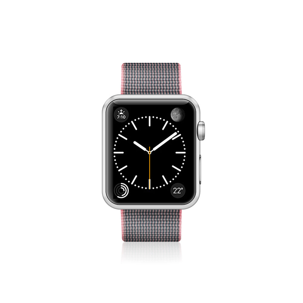 Casetify Nylon Fabric Band Pink for Apple Watch 40/38mm (Wearables)