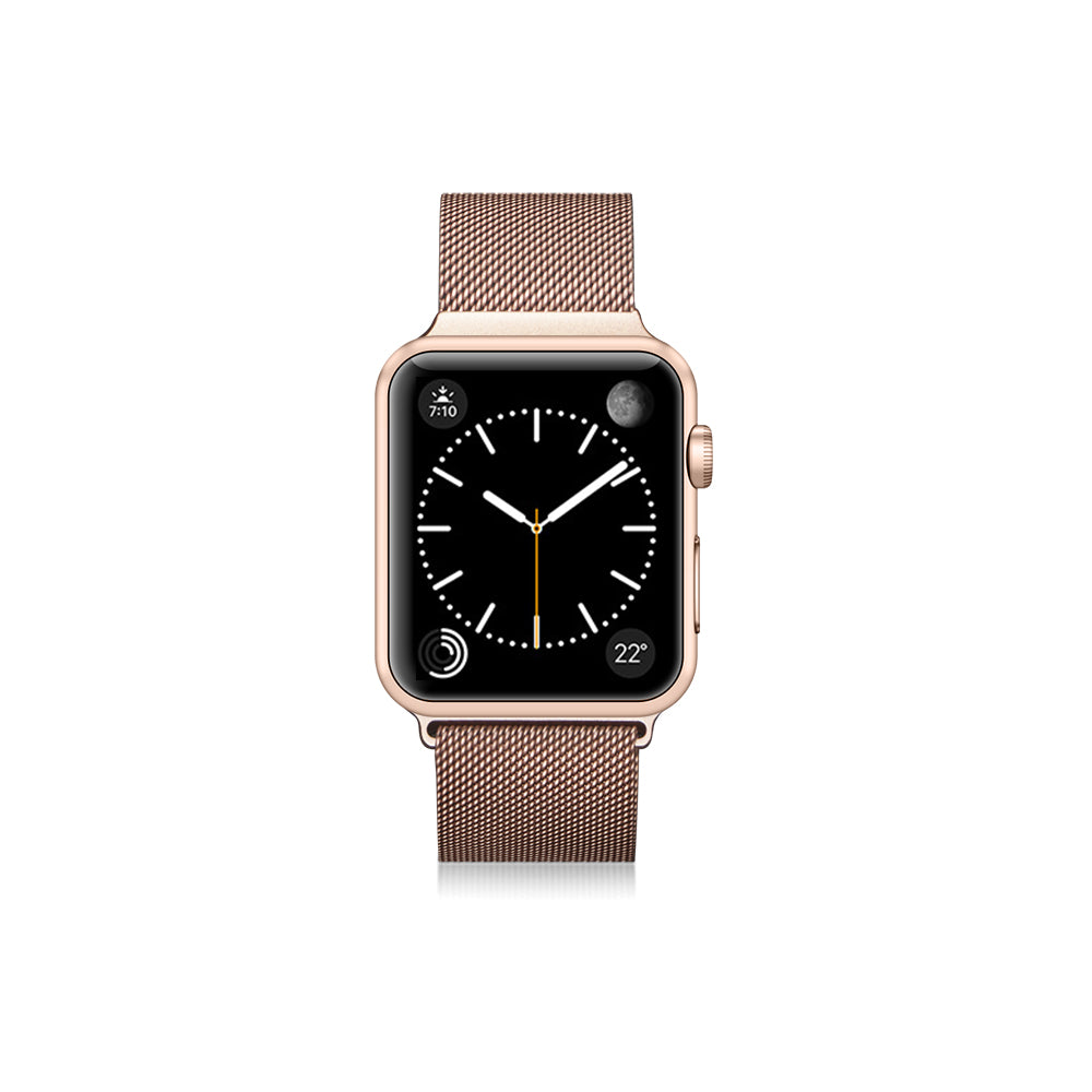 Casetify Stainless Steel Band Gold Aluminium for Apple Watch 44/42mm