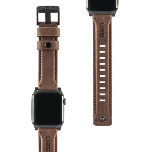UAG Leather Strap Brown for Apple Watch 44/42 mm