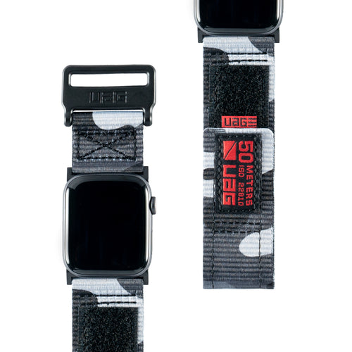 UAG Active Strap Midnight Camo for Apple Watch 44/42 mm