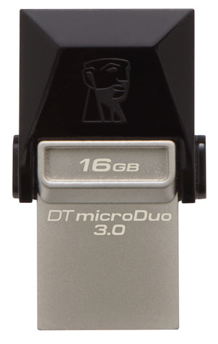 Kingston 16GB 3.0 MicroDuo MicroUSB Data Traveler Memory Card