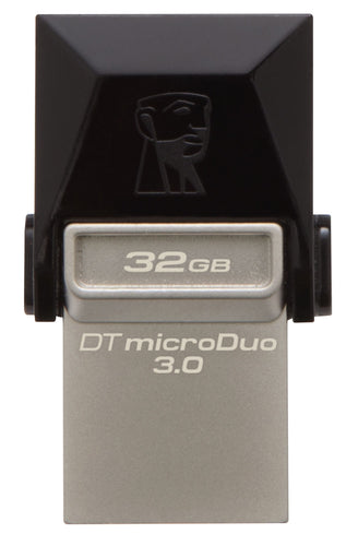 Kingston 32GB 3.0 MicroDuo MicroUSB Data Traveler Memory Card