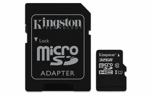 Kingston 32 GB microSDHC Class 10 Flash Memory Card SDCS
