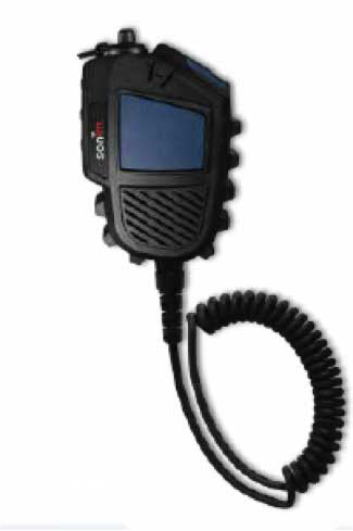Sonim 727908213218 C-C550 IS Remote Speaker Mic Black