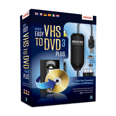 Roxio Easy VHS to DVD version 3.0 Plus BIL