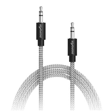 Digipower Auxillary Stereo 3ft Cable Braided