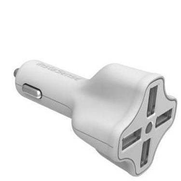 DigiPower Car Charger 6.2amp InstaSense 4Port USB (Car Charger)