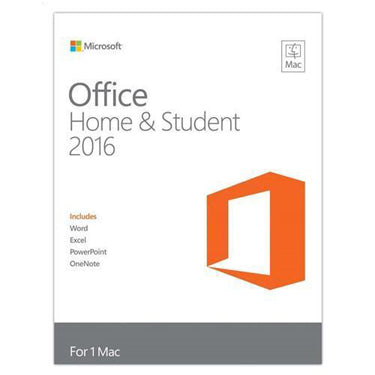Microsoft Office 2016 Home & Student Mac PKC English