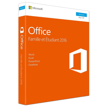 Microsoft Office 2016 Home & et Etudiant PC French