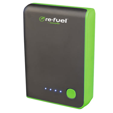 ReFuel 10,400 mAh 2-Port USB Rechargeable Power Bank