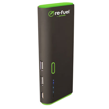 ReFuel 13,000 mAh 2-Port USB Rechargeable Power Bank