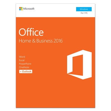 Microsoft Office 2016 Home & Business PC PKC