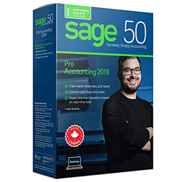 Sage 50 2019 Pro Accounting Canadian Edition