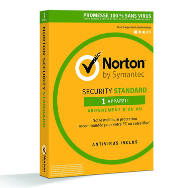 Norton Security Standard 1-User 1-Year PKC BIL