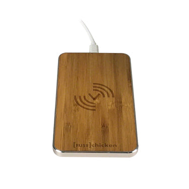 Fuse Chicken Qi Charge Pad 10w Gravity Touch Bamboo