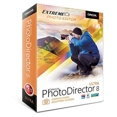 Cyberlink PhotoDirector 8 Ultra BIL