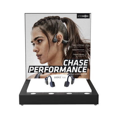 PROMO Aftershokz POP Display Trekz Air FREE w/4 Unit Buy-In