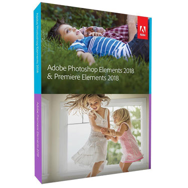 Adobe Photoshop Elements & Premiere Elements 18