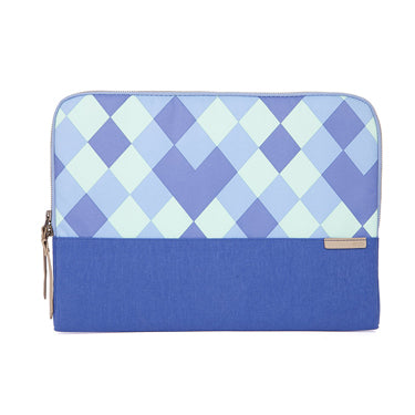 STM Laptop Sleeve Grace 13in Blue Diamonds