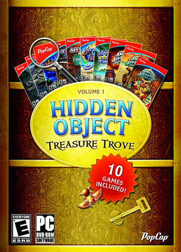Popcap Hidden Object Treasure Trove Vol 1 w/10 Games