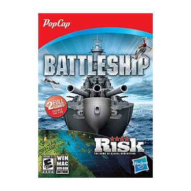Popcap Battleship & Risk 2-Pack