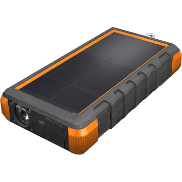 Tough Tested 24k mAh Powerbank Solar w/ USB-C IP67 D/W/Sh I