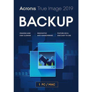 Acronis True Image 2019 Backup & Recover 1-User BIL