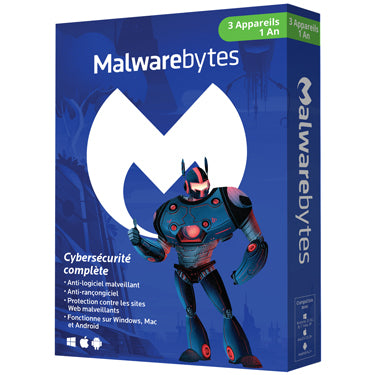 Malwarebytes Premium 5-User 1Yr PC/Mac/Android BIL