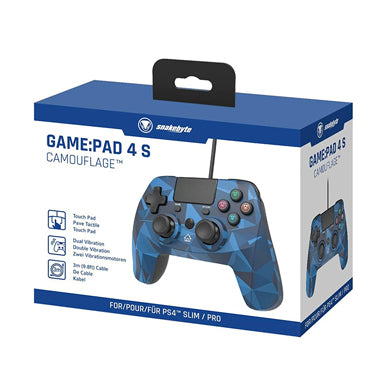 Snakebyte PS4 Game Pad 4 S Camo