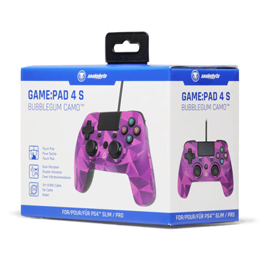 Snakebyte PS4 Game Pad 4 S Bubblegum Camo