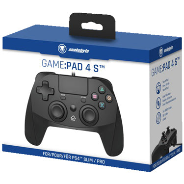 Snakebyte PS4 Game Pad 4 S Black