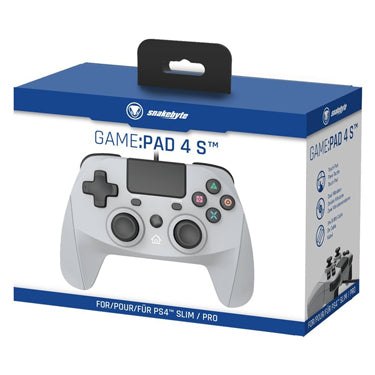 Snakebyte PS4 Game Pad 4 S Grey