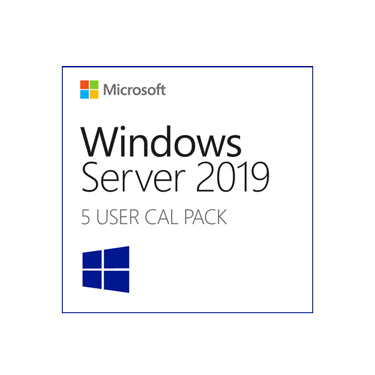 Windows Server 2019 5-CAL License Pack