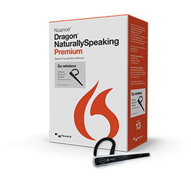 Dragon Naturally Speaking 13 Premium w/microphone