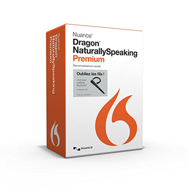 Dragon Naturally Speaking 13 Premium Francaise w/microphone