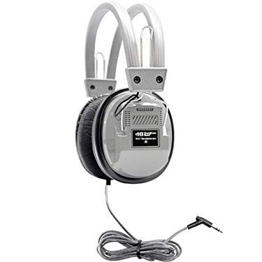 HamiltonBuhl Headphone Deluxe Dura-Cord 6ft Silver