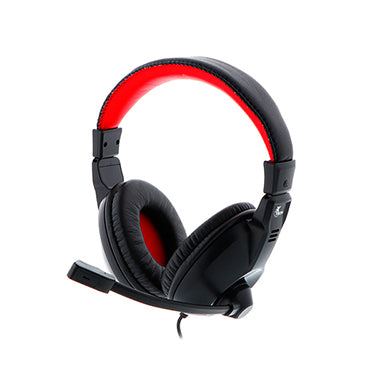 Xtech Headset Voracis On Ear 2x3.5mm Jacks w/Mic Black/Red