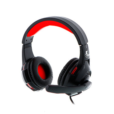 Xtech Headset Ixion On Ear 3.5mm & USB w/Mic Backlit Gami
