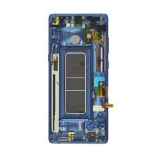 Samsung Galaxy Note 8 LCD With Frame Blue