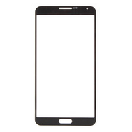 Samsung Galaxy Note 3 III Front Screen Glass Lens Black