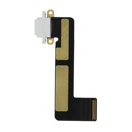 Apple iPad Mini Charging Port With Flex Cable White