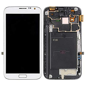 Samsung Galaxy Note 2 White With Frame