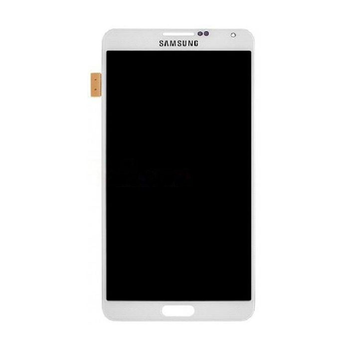 Samsung Galaxy Note 3 III N900 N9002 N9005 N900A N900V N900P N900R N900T N900W8 LCD Screen Display with Digitizer Touch Panel, Classic White