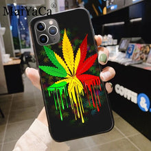 Load image into Gallery viewer, MaiYaCa Abstractionism Art high weed Luxury phone Accessories Case COVER for iPhone 8 7 6S Plus X XS MAX XR 5S SE 5C Coque Shell