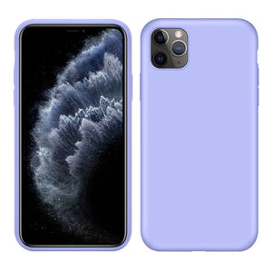 For iPhone 11 Pro XS MAX XR X 7 8 6S Plus Phone Case Soft Silicone Color Premium TPU Protective Cover For iPhone 11 Pro MAX Case