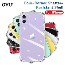 Load image into Gallery viewer, Luxury Shockproof Silicone Phone Cases For iPhone 11 Pro X XR XS MAX 6 7 8 Plus 11 Case Cover Transparent Protection Back Cover
