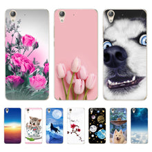 Load image into Gallery viewer, for huawei Y6 2 Y6 ii Case 5.5 inch Back Cover For Fundas Huawei Y6ii Y6 II CAM-L21 CAM L21 Case Soft silicone cover phone case