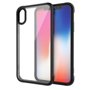 Hybrid Hard PC Soft Bumper Frame Case For iphone 11 Pro Max Xs Xr X + 7 8 Plus Jelly Clear Back Camera Protective Coque Cases