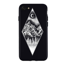 Load image into Gallery viewer, Luxury Phone Case For iPhone 11 X XS XR XS Max 8 7 6 6S 5 Plus Case Mountain Peak Forest Lake Soft Silicone TPU Back Cover Cases