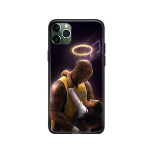 Kobe Bryant gigi Black Mamba salute R.I.P For iPhone 6 6s 7 8 Plus X XR XS 11 Pro Max soft silicone Phone case cover shell
